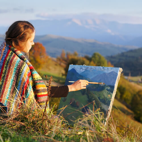 The Return to Creativity - Art and Painting Retreats - TheReturn.ca
